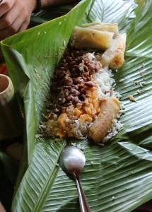 Ein traditionelles Essen, unglaublich lecker!